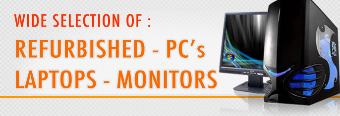 refurbished pcs laptops monitors
